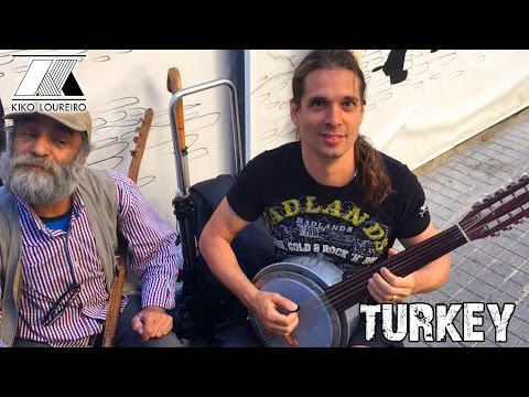 Playing with street musicians in Turkey - Part One
