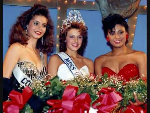 Carole Gist: The First Black Miss USA - YouTube
