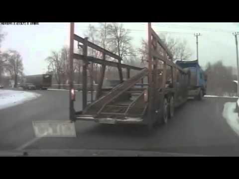 Автожесть Аварии грузовиков