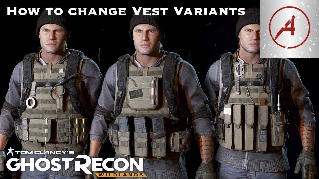 Ghost Recon Wildlands How To Change Your Vest Variants