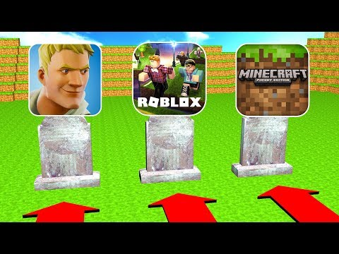Do Not Choose The Wrong Grave (Fortnite, Roblox, Minecraft)