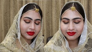 Easy Indian Bridal Makeup Tutorial | In Hindi | Konan Beauty