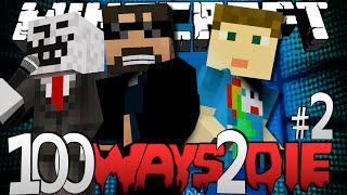 Minecraft 100 Ways To Die | Leg Waxing Challenge [2]