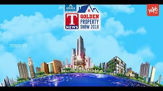 T News Golden Property Show 2018, Feb 24-25 Shilpakala Vedia, Madapur, Hyderabad | YOYO TV Channel
