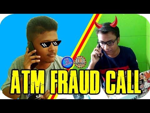 ATM Fraud Call - ATMৰ কাৰণে আহিল Fraud ক'ল | The Veg Chicken-DD Entertainment | Q&A Announcement