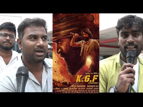 K.G.F: Chapter 1 Movie Public Tamil Review  | Yash, Srinidhi