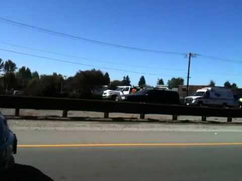 2 car crash in Santa Cruz, Ca.