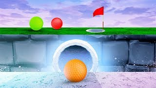 SECRET WAYS TO A HOLE IN ONE! (Golf It)