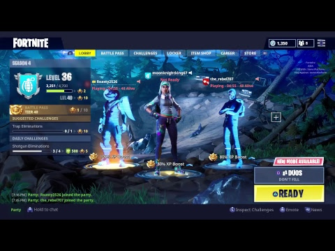 Fortnite GamePlay Ep 17 Duo's w/Thomas Russell