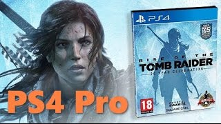 PS4 Pro Rise of the Tomb Raider: 20 Year Celebration прохождение часть 1
