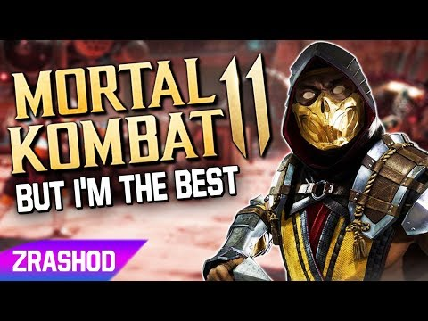 Mortal Kombat 11 EXCEPT Im Already The Best At The Game |