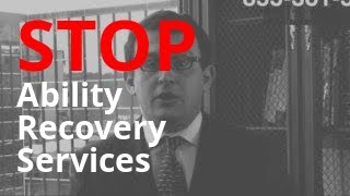 Important Information on Winning Against Ability Recovery Services — Call 855-301-5100