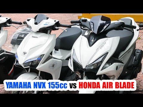 Yamaha NVX 155cc đè Honda Air Blade 2016 ▶ Xe Tay Ga Phải Chất!