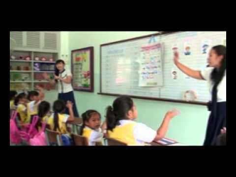 การจัดกิจกรรมการเรียนการสอนภาษาอังกฤษ อนุบาล 3 โรงเรียนมารีย์อนุสรณ์