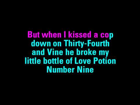 Love Potion #9 The Coasters Karaoke - You Sing The Hits