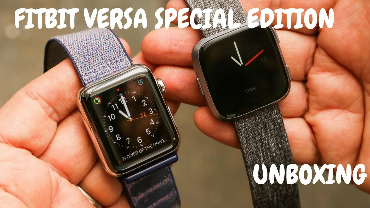 Fitbit versa Special Edition unboxing| How to setup new ...