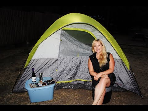 A Night Of Tenting It At A Campground In Salmon Arm BC | Petrena Schell