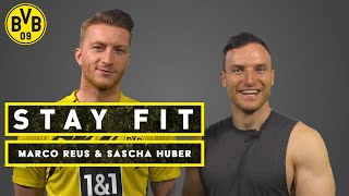Stay fit - with Marco Reus & Sascha Huber | 7 Min Sixpack Workout | Episode 14