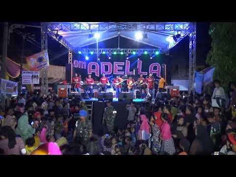 Cek Sound OM ADELLA Instrumen -  Live Bulak Banteng 24 Desember 2017