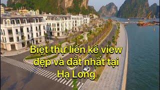 Khu phố tập chung nhà giàu mới nổi tại Hạ Long | Biệt thự liền kề đẹp và đắt nhất | Hạ Long city