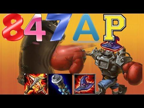 Full AP Blitzcrank 847 AP Midlane - League of Legends - Möbeln & Kloppen