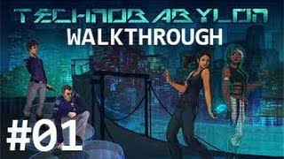 Technobabylon Walkthrough Guide Part 1