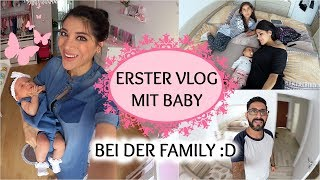 ERSTER VLOG MIT BABY BEI DER FAMILY !! Sevins Wonderland