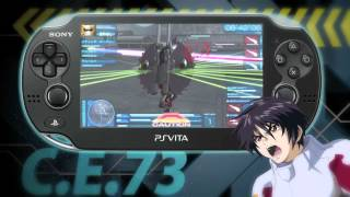 [PS Vita] Mobile Suit Gundam Seed Battle Destiny - Spot TV JP [HD]