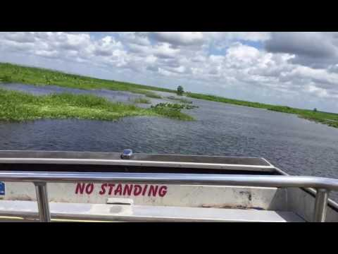 Twister Airboat Ride At Lone Cabbage Fish Camp