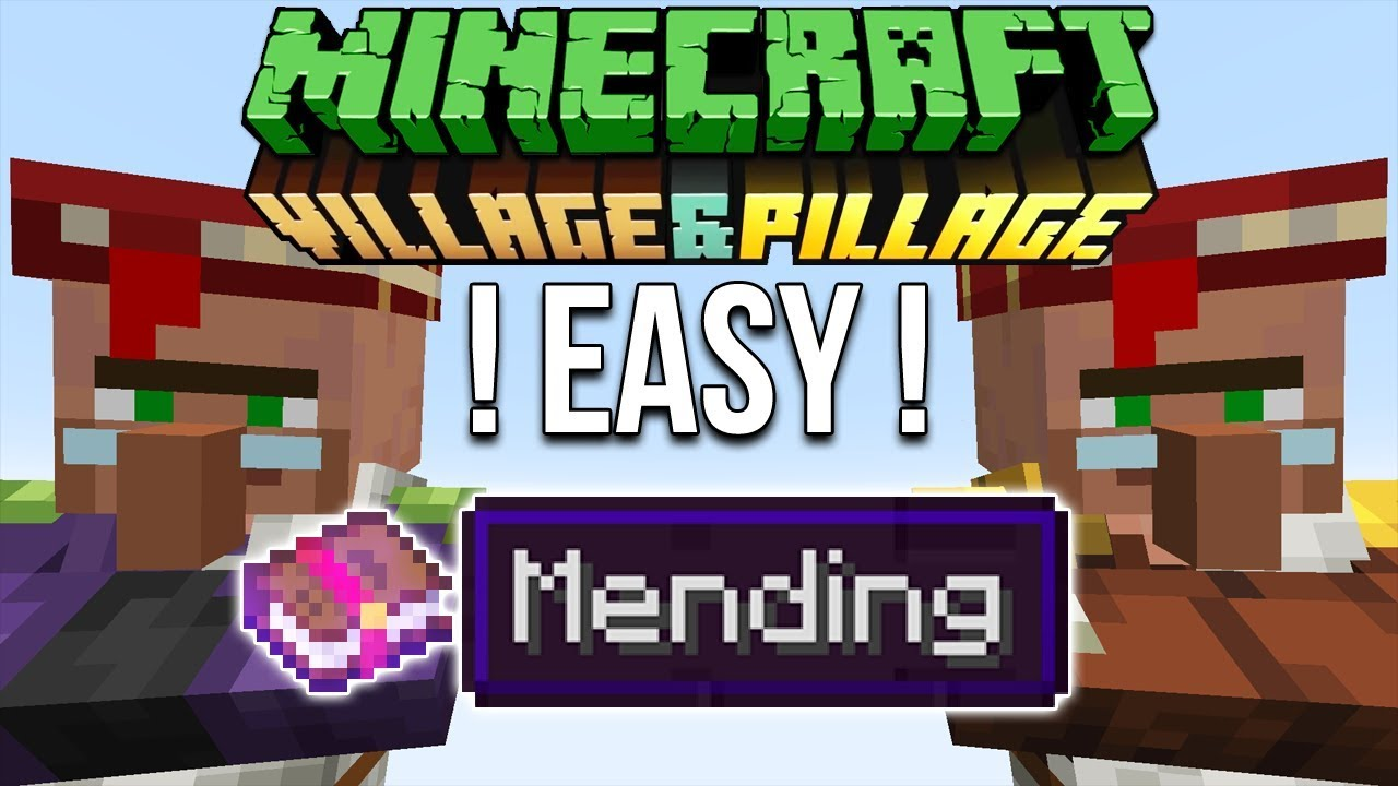 Minecraft 8.84 Easy Mending Books Tutorial