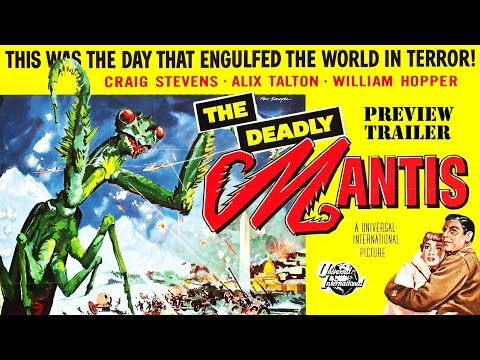 The Deadly Mantis (1957) Trailer - B&W / 2:02 mins