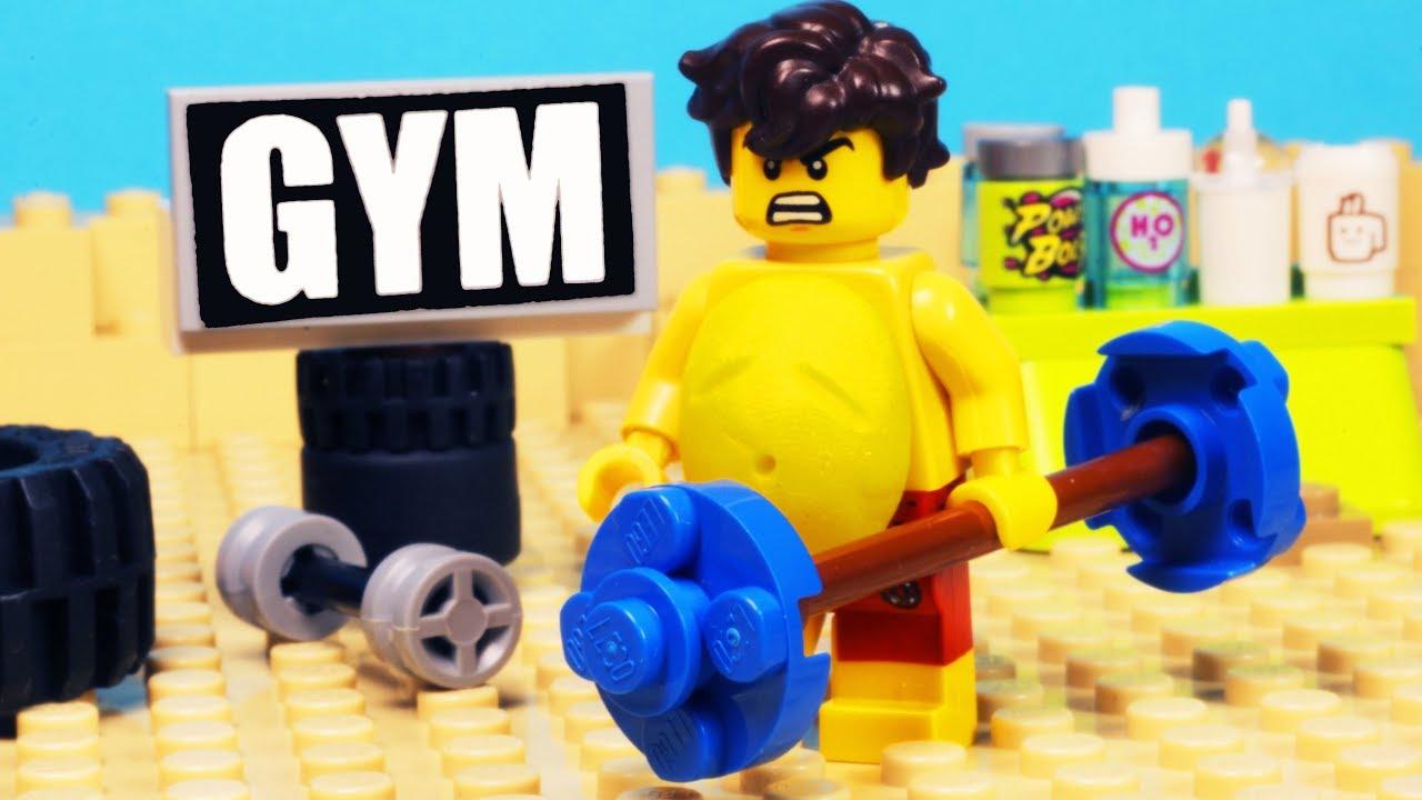 Lego Fat Man Gym Fail - Youtube-1869