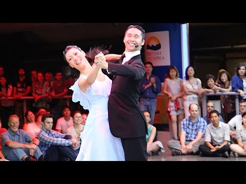 Robson Square Summer Dance Series - JC Dance Co - Progressive Quickstep