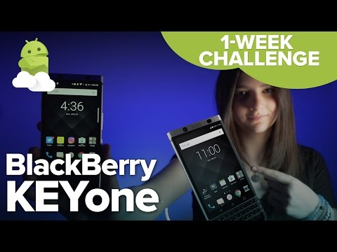 BlackBerry KEYone One Week Challenge!
