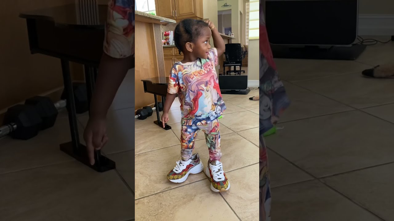 2yr Old Choose JORDANS Over GUCCI SHOES! | Beam Squad #Shorts