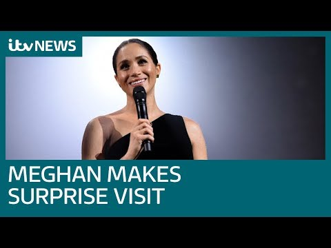 Duchess of Sussex makes surprise appearance at Fashion Awards | ITV News
