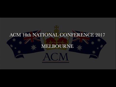Description to the 18th ACM Conference 2017 Melbourne