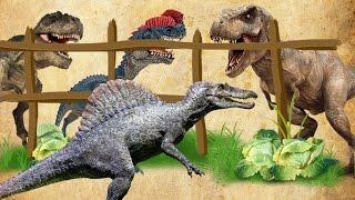 СПИНОЗАВР и ДИНОЗАВРЫ в ПЛЕНУ. Новые мультфильмы про динозавров на русском языке