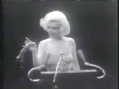 Marilyn Monroe sings Happy Birthday to the President