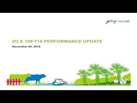 Godrej Agrovet Ltd  Investor Presentation for Sept 2018 results