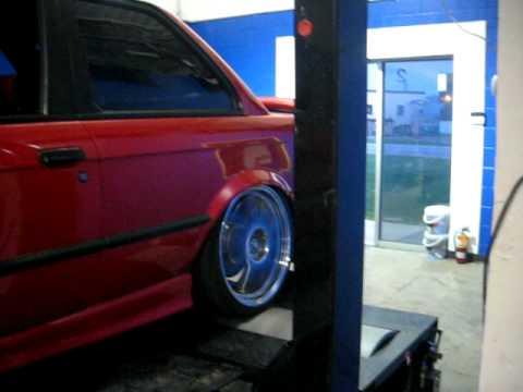 E30 S52 Dyno Run