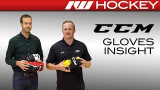 CCM Jetspeed FT1, Super Tacks and Super Tacks 4-Roll Glove Insight