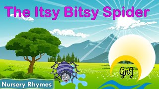 Itsy Bitsy Spider + More Nursery Rhymes & Kids Songs-Gnj | english story | english fairy tales