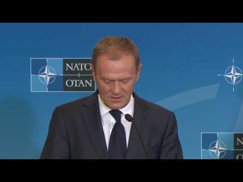 EU-NATO Signing Ceremony & Press Statements, 08 JUL 2016