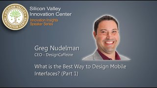 (Part 1) Greg Nudelman: What Is The Best Way To Design Mobile Interface