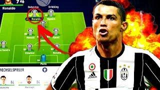FIFA 18 : RONALDO BEI JUVE !!? 😳 JEDES ANGEBOT ANNEHMEN 👍 Juventus Turin Karriere Challenge