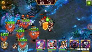 Magic rush heroes masmorra de cristal 113