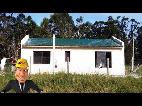 CONSTRUCCIONES DE CASAS SÓLIDAS Y ECONÓMICAS LADRILLO MADERA TRONCO, MALDONADO URUGUAY