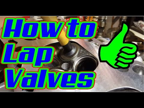 How to Lap Valves or Re-seat Valves