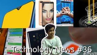 Technology News #36 -Twitter Beta, Itel A44, Nokia 9, YouTube, Oppo 10x, Nokia 3.1, M-Series.